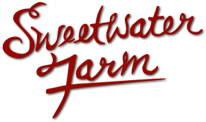 sweetwater text logo red